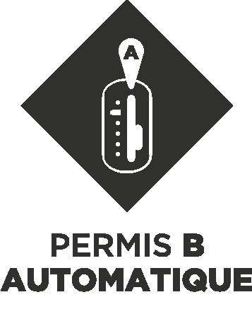 Permis B sur Boîte automatique